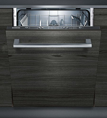 Siemens iq100sn615x vollständig integriertes 01AE 12places A + + Spülmaschine–Geschirrspülmaschinen (komplett integriert, Holz, Full Size (60cm), grau, Knöpfe, 1,75m)