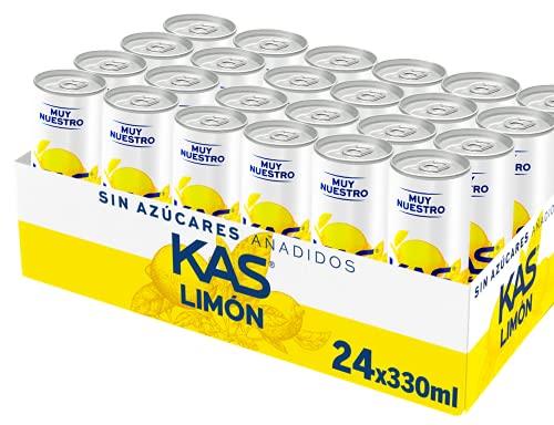KAS Zero Limón 330 ml - Refresco de Limón sín