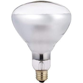 Philips 250 Watt R40 Red Medium Incandescent Heat Lamp Light Bulb 415836