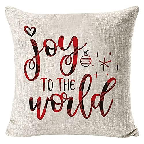 2021 Funda de cojín de Navidad suave Funda de cojín de Navidad Funda de cojín de sofá Funda de almohada Decoración de Navidad 33