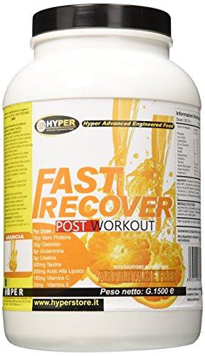Hyper Fast Recover Recupero Muscolare, Arancia - 1500 gr