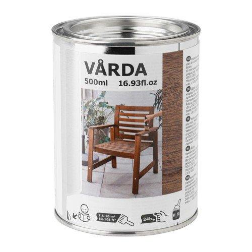 Ikea Varda Holzlasur in braun; für draußen; (0,5l)