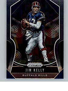 2019 Prizm Football #263 Jim Kelly Buffalo Bills Official NFL Trading Card From Panini America