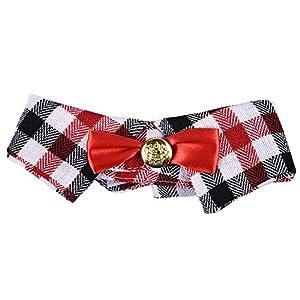 Mignon Mode Bandana Echarpe Foulard Triangle Réglable pour Chiot Chien