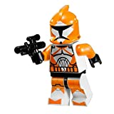 Star Wars Lego Minifigure - Orange Bomb Squad Troo