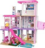 Barbie New 2021 DreamHouse (3.75-ft) Big Dollhouse with Pool, Slide, Elevator, Lights & Sounds, + Dollhouse Accessories & Furniture, Toy House for Dolls, Preschool Dolls, Gift for Age 3 and up by Mattel