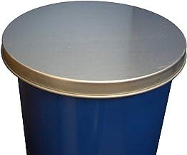 ノーブランド品 ドラム缶用 亜鉛蓋(中) バンド類を装着しないオープンドラム缶用 c47a