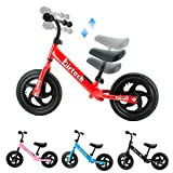 Balance Bike - Toddler Training Bike for 2, 3, 4, 5 and 6 Year Old Kids Balance Bikes for Toddlers with Height Adjustable Seat & Handlebar