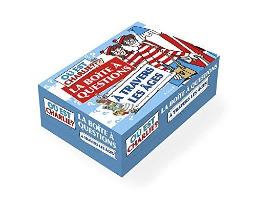 Où est Charlie ? La boîte à questions : À travers les âges – Jeu de société avec 95 cartes – À partir de 7 ans