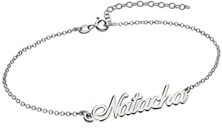 Best name bracelets sterling silver Reviews