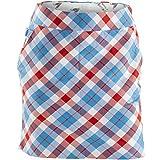 Royal & Awesome Women's Womens Golf Skort Skirt, Plaid a Blinder, US 8/UK 12