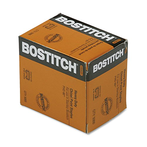 Bostitch sb35phd5m Heavy-Duty Premium Grapas, 3/8'Longitud de Pierna, 5000/caja
