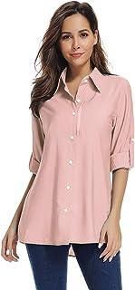 Women's Quick Dry Outdoor UPF 50+ Sun Protection Long Sleeve Shirt #0285