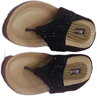 SANDAL HOUSE Articles 289 Alize Black Casual Chappal for Girl