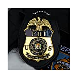 JXS Special Agent FBI Badge Souvenir, American Badge Replica, 1:1 Copy of All Copper Material, Badge Collection Souvenir