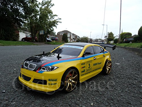 RC Auto kaufen Drift Car Bild: YELLOW BLACK COUPE 4WD DRIFT RADIO REMOTE CONTROL CAR 1 10 FREE TYRES NEW RAPID FAST SPEED by Action Ford Ltd*