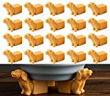 Pot Feet for Outdoor Planters Planter Risers for Pots Indoor Dog Head Shaped Planter Feet Planter Elevator Improve Airflow, Drainage, Decorative Feet for Planters