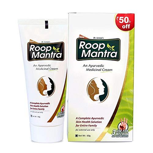 Roop Mantra Ayurvedic Cream For Men And Women, 60g...