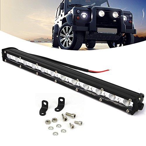 kashine 36W led-werklampen Bar LED Extra belichting offroad Auto schijnwerper voor auto 's ATV SUV 4WD tractor werklicht koplampen 6000K IP67Waterdicht