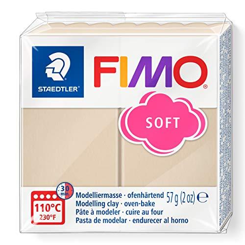 Fimo 8020 - Pasta de Modelar, Color Sahara