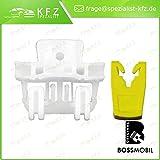 set riparazione per sollevatore di finestrino alzacristalli avanti sinistra o dietro sinistra 2//3 o 4//5 porte 937 Bossmobil 147