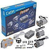 CaDA Power System inkl. 3 Motoren, LED, Akku-Box & 2.4Ghz Fernsteuerung (kompatibel mit vielen Modellen & Lego Power Functions)