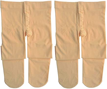Dancina Ballet Dance Tights Footed - Ultra-soft Pro Excellent Hold&Stretch (Toddler/Girls