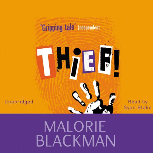 Thief! audiobook cover art