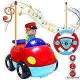 Cartoon Auto mit Musik