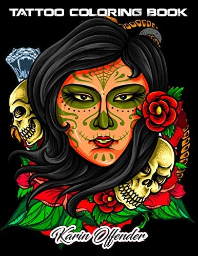 Tattoo Coloring Book An Adult Gorgeous with Awesome Sexy and Relaxing Tattoo Designs for Men product image