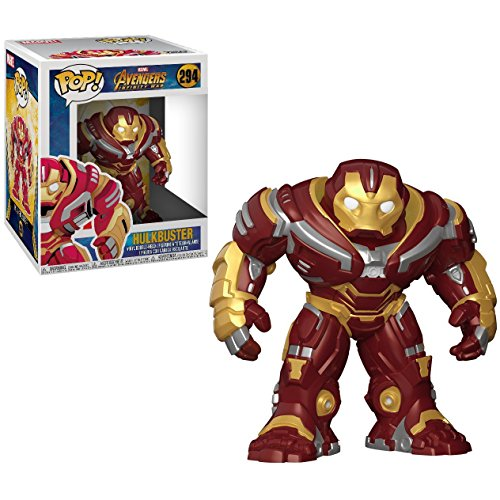 Funko Hulkbuster Deluxe POP! Marvel x Avengers - Figura de vinilo Infinity War + 1 paquete oficial...