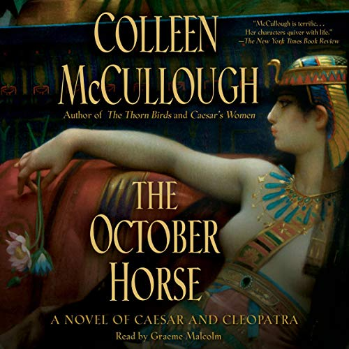 The October Horse audiobook cover art