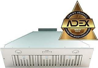 "KOBE Range Hoods INX2936SQBF-500-1 Built-In/Insert Range Hood, 36"""