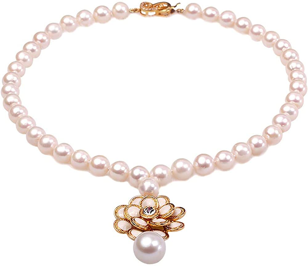 JYX Pearl Multi Strand Shipping included Necklace Freshwater Oval White Excellence Cu 5-5.5mm