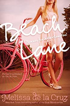 Beach Lane by [Melissa de la Cruz]