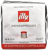 illy Caffè 7952, 108 Cialde Capsule Caffe' Illy Iperespresso TOSTATO CLASSICO Ex Tostatura...