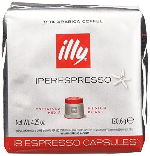 illy Caffè 7952, 108 Cialde Capsule Caffe' Illy Iperespresso TOSTATO CLASSICO Ex...