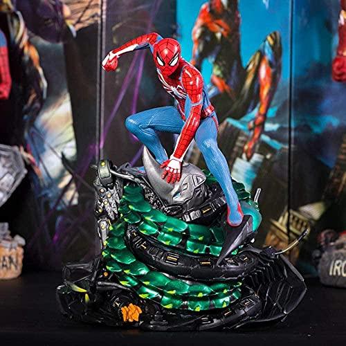Marvel Animado Personaje patrón Escultura Vengadores ps4 Spiderman