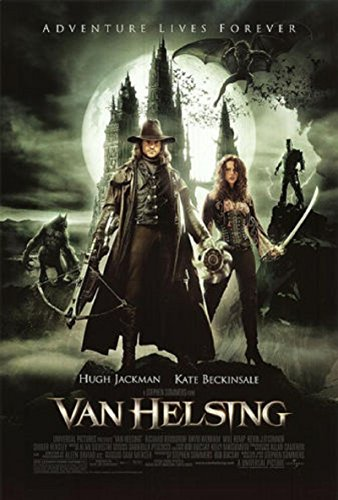Van Helsing 2004 S/S Movie Poster 11x17