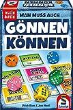 Schmidt Spiele 49368 Gönnen können, Würfelspiel aus der Serie Klein & Fein, bunt