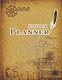 NOTEBOOK PLANNER: Good day start with Thankful ,weekly planner's Goals , Weekly planner have a Time, Priorities, Activity menu for your choice