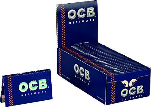 OCB 15424Ultimate Rolling Papers, Girevole Carta Corta, 25Libretti a 100Fogli