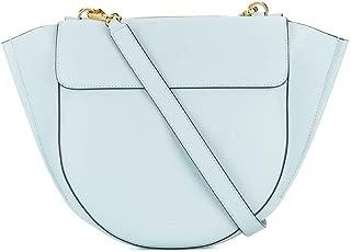 Luxury Fashion | Wandler Womens HORTENSIAMEDIUMCALFMILKY Light Blue Handbag | Spring Summer 20