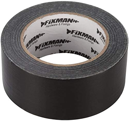 HSC Repair Tape,Install Tape,Household Tape,Heavy Duty Clear Duct Tape 50mm x 20m,Black,50 mm x 50 m