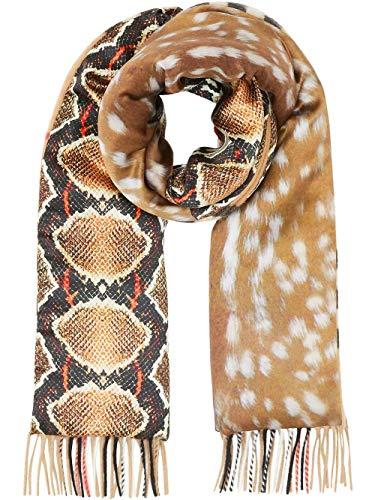 Luxury Fashion | Burberry Heren 8025257 Bruin Kasjmier Sjaals | Lente-zomer 20