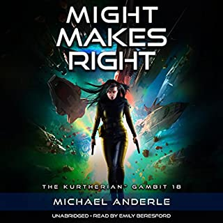 Might Makes Right audiobook cover art