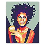 PGbureau Whitney Houston Poster – WPAP Home Wall
