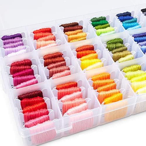 Embroidery Floss Kit Cross Stitch Floss Kit Cross Stitch DMC Embroidery Floss Thread Storage product image