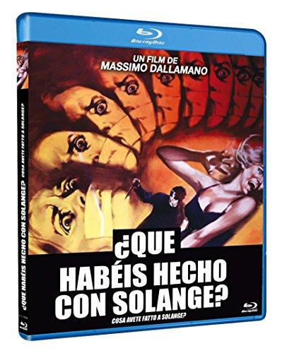 ¿Qué habéis hecho con Solange? BD  1972 Cosa avete fatto a Solange? [Blu-ray]