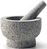 cookwise Mortar and Pestle set 2 cup easy to clean made for lifetime, with gift inside, unpolished...
